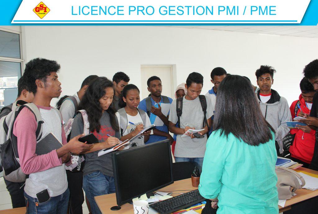 LICENCE PRO GESTION PMI - PME